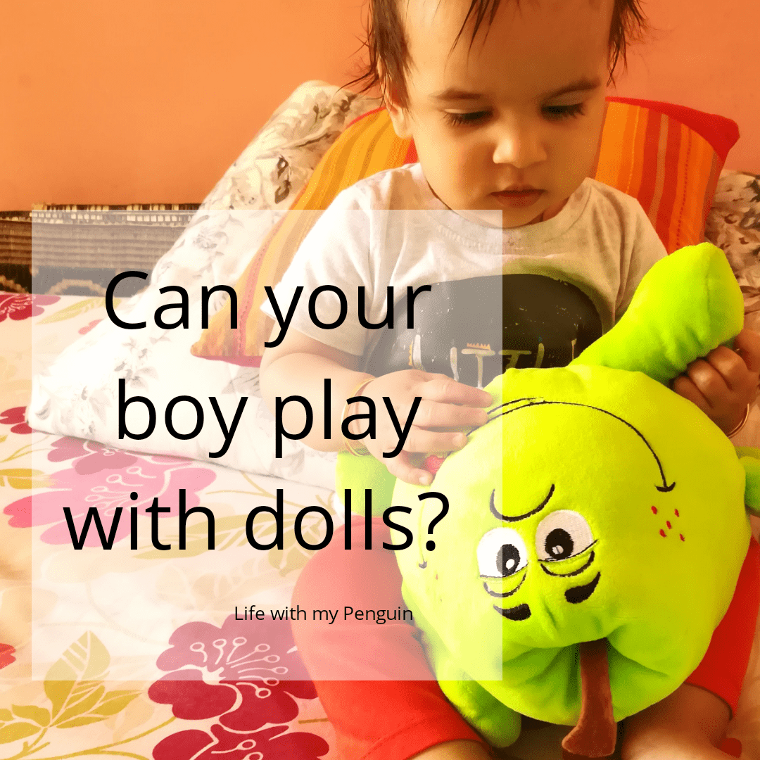 should a boy play with doll?