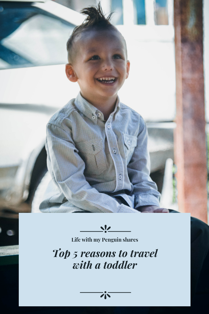 Why travel with toddler