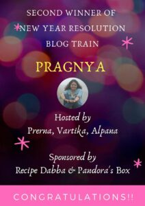 Blog train winner