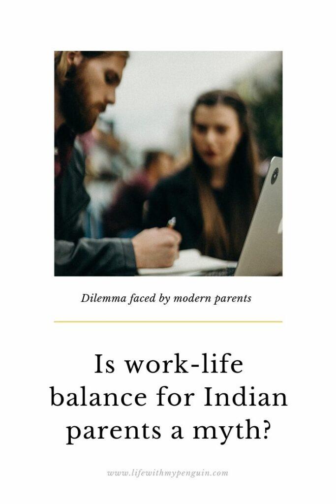 work life balance in parents