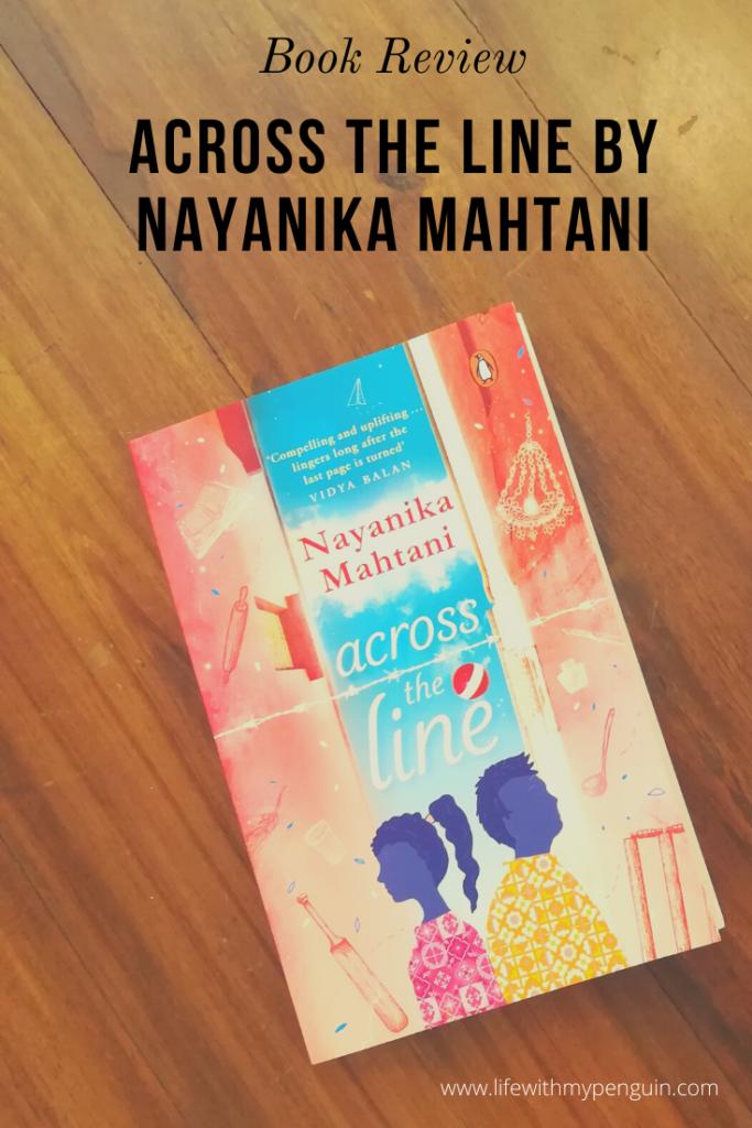 across the line by nayanika mahtani